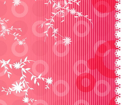 Floral Background - Free Download CDR | Belajar CorelDRAW