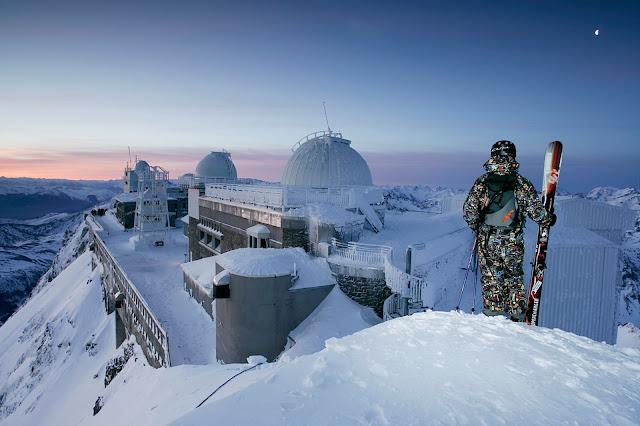 freeride au Pic du Midi de bigorre