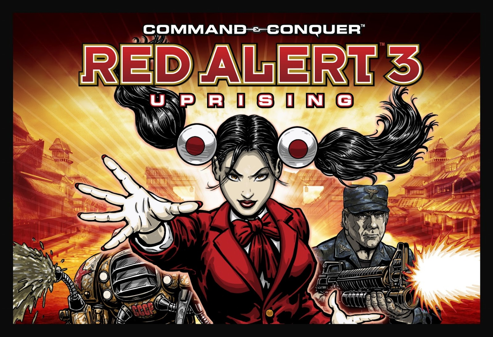 command and conquer red alert 3 uprising download