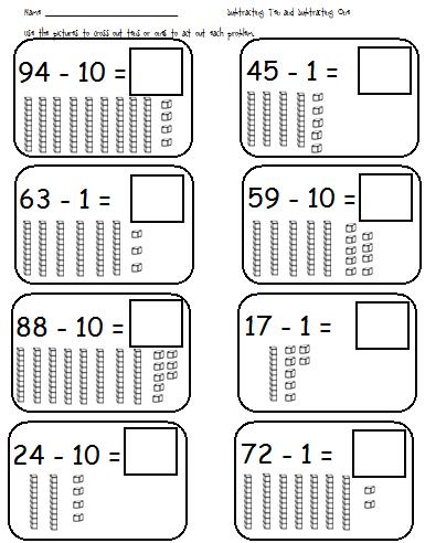 Free Worksheets » Adding To 10 Worksheets - Free Math Worksheets ...