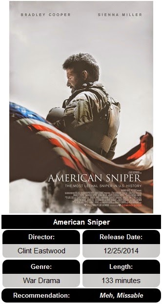 american sniper analysis The old man is back and he's back with thoughtful, raging force not only is 84-year old clint eastwood back in directing american sniper, he's b.
