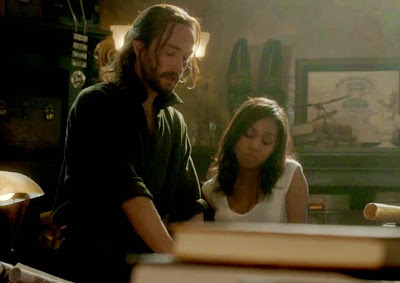 Sleepy Hollow Weeping Lady Season Two Episode Five Abbie Mills Ichabod Crane Nicole Beharie Tom Mison