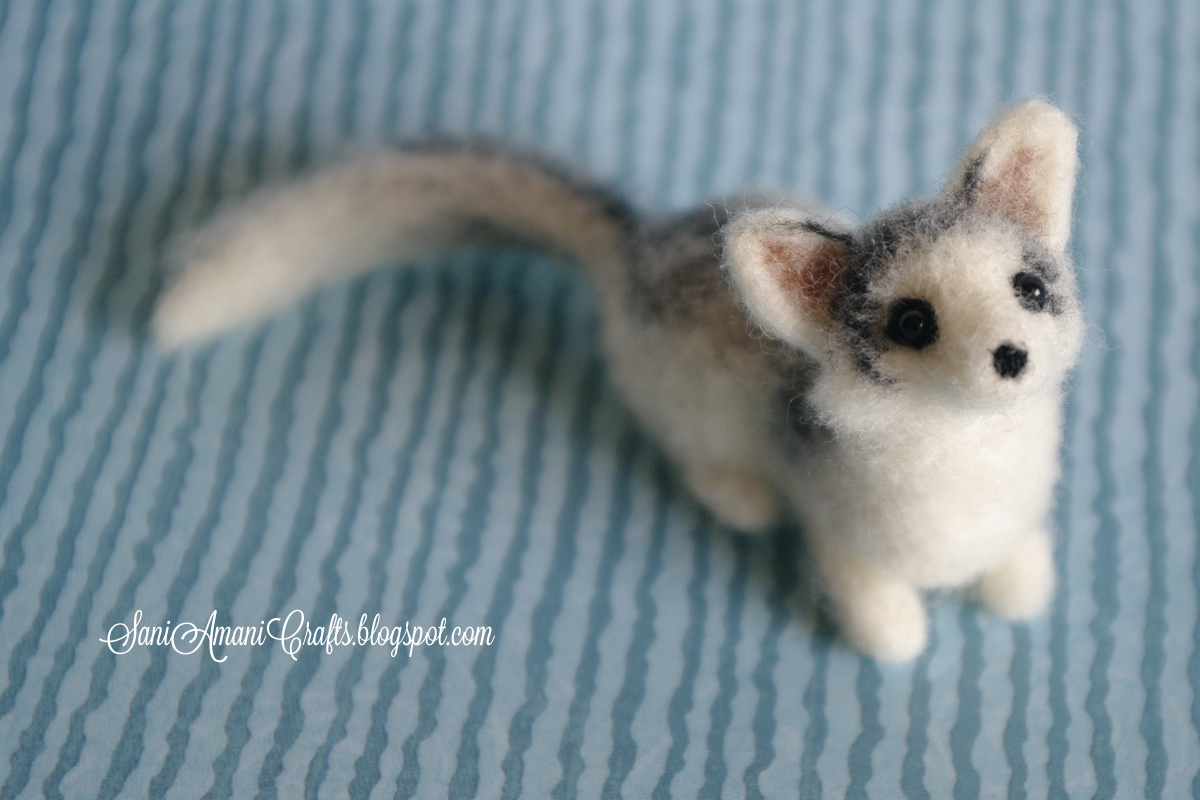 SaniAmaniCrafts: Needle felting - (part X - Canadian ...