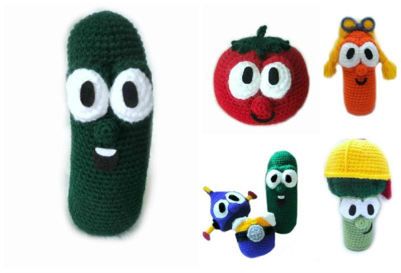 Pumpkin carving patterns veggie tales : Guest ger week amigurumi to go crochet addict uk