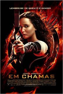 """Poster do filme """"Jogos Vorazes: Em Chamas"""""""