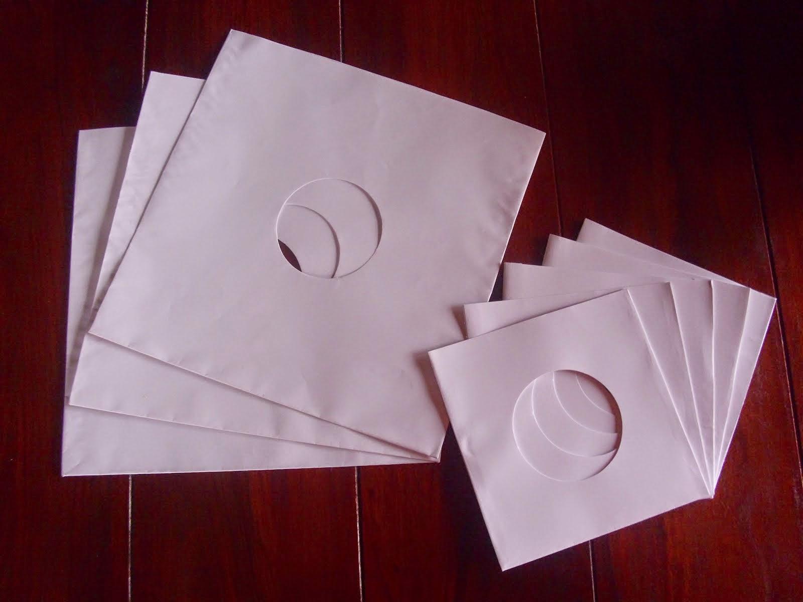 Papirne kese za singl i LP ploče