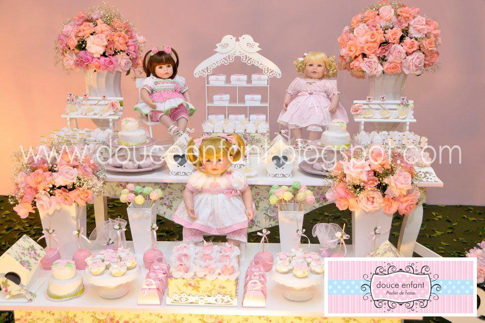 Douce Enfant: Decora??o Jardim das Bonecas da Julia ...