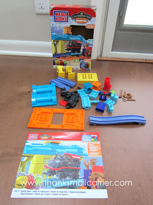 Mega Bloks Chuggington Repair Shop