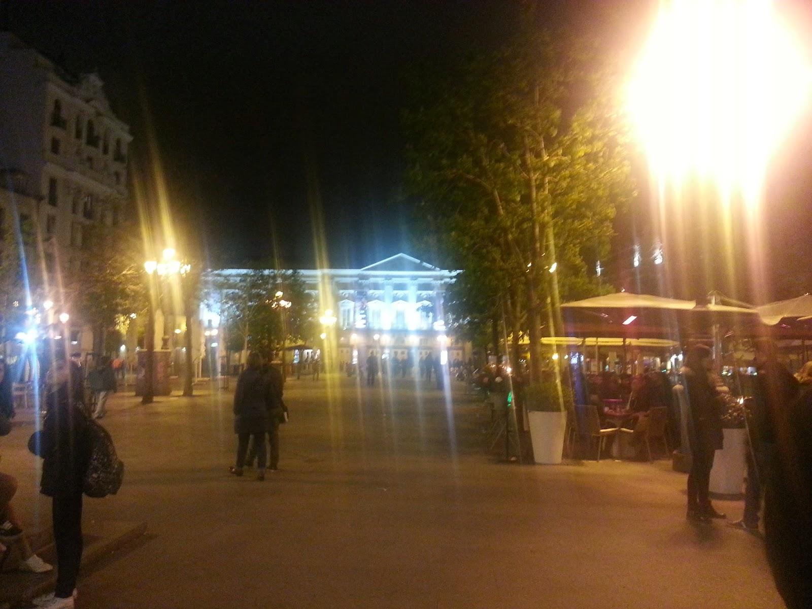 Barrio de las Letras. Madrid. Plaza Santa Ana. Inspección Tabernaria