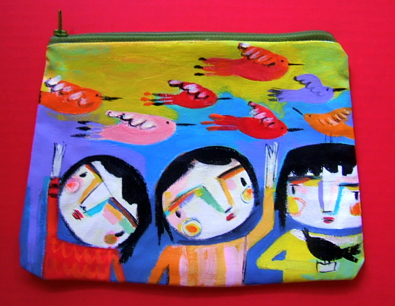 The Itsy Bitsy Spill: More fun art into clutches!
