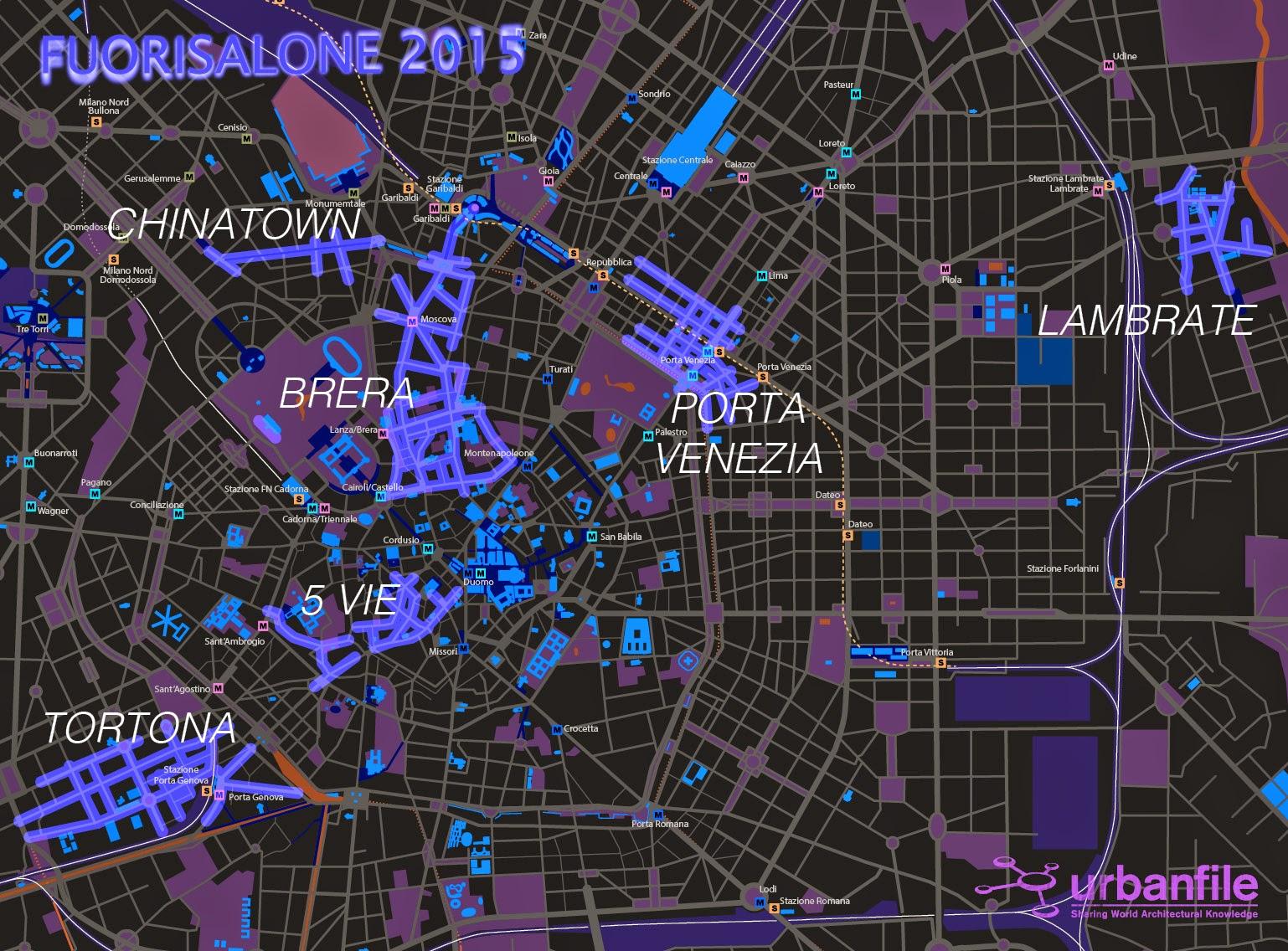 Urbanfile milano eventi fuorisalone 2015 for Fuorisalone lambrate