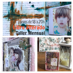 "Cute and Crafts                                         Taller Mensual ""Libro alterado"""