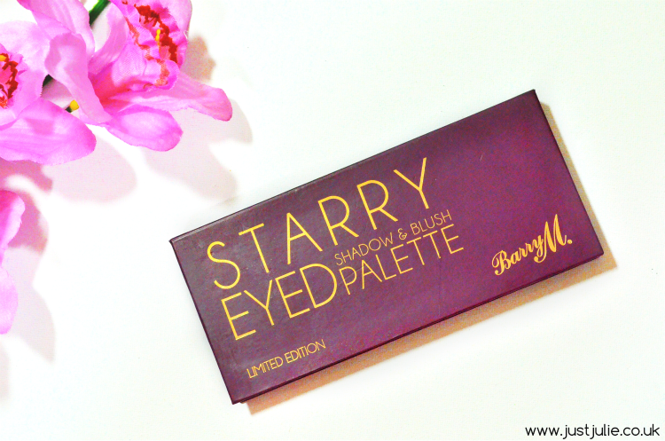 Barry M Starry Eyed Shadow & Blush Palette