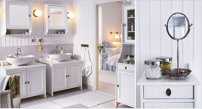 Little cottage that could master bath - Poubelle salle de bain ikea ...
