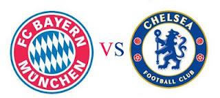 Final Liga Champions Muenchen vs Chelsea