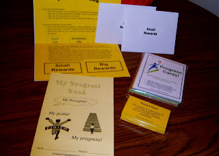 Progress Cards with book and Parent Passes