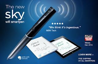 LiveScribe Sky Wifi Smartpen
