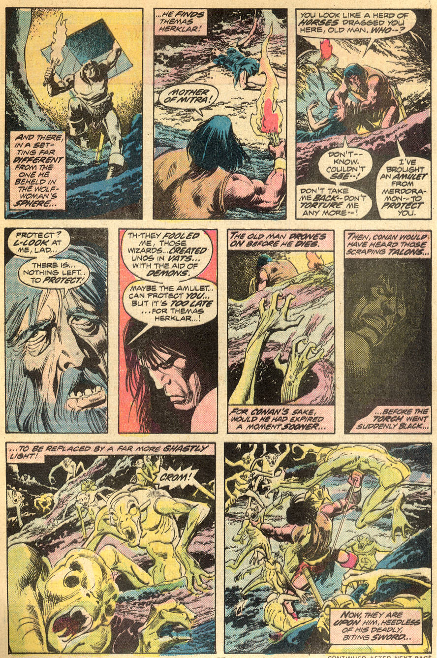 Conan the Barbarian (1970) Issue #50 #62 - English 17