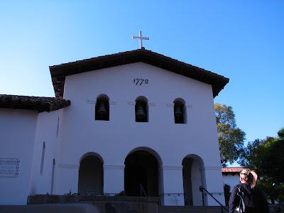 San Luis Obispo de Tolosa Mission, SLO, CA www.thebrighterwriter.blogspot.com #California