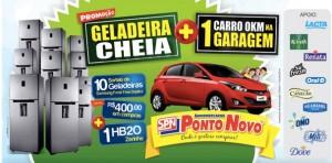 Participar promoção Geladeira Cheia Carro Zero