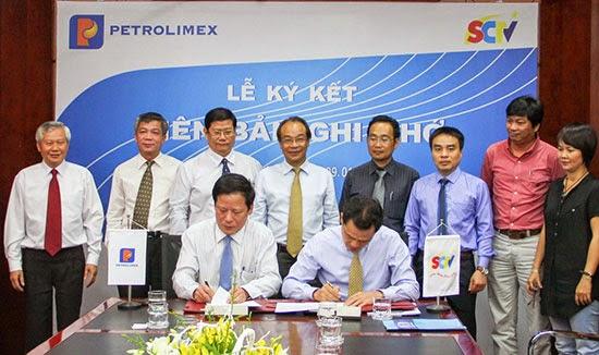 SCTV và Petrolimex ký kết thỏa thuận hợp tác truyền thông