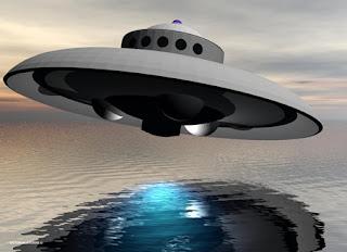 Rendering of UFO