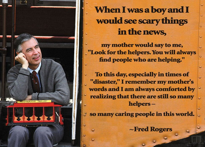 always knew Mister Rogers was a wise  wise man Young Fred Rogers Military