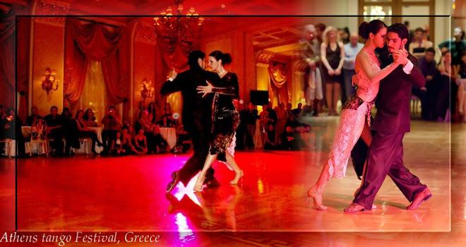 Athens tango festival, Greece