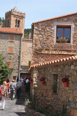 Beautiful medieval village of Coustouges