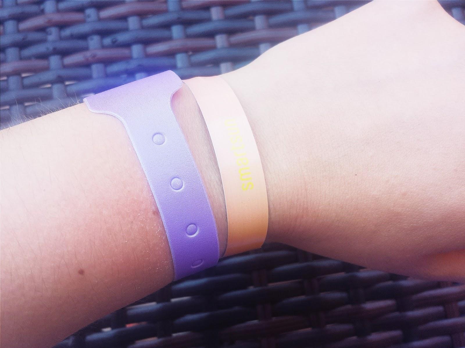Smart Sun UK UV Sun Safe Wristband Red
