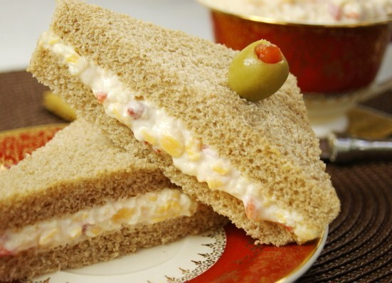 ... cheese spread is perfect on crackers and in classic pimento cheese