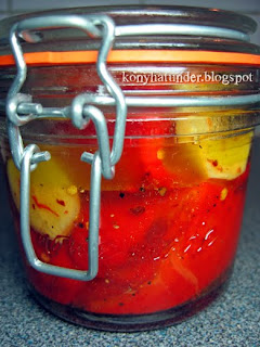 marinated-red-pepper-with-chili