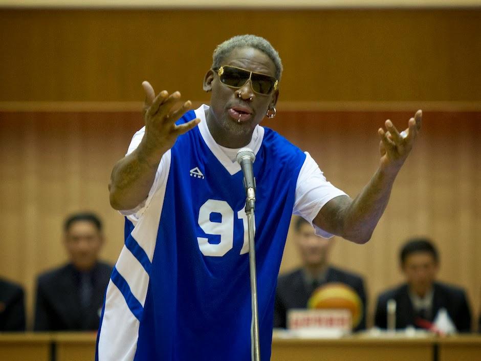 Dennis Rodman, Kim Jong-un, happy birthday, north korea, whorrified,
