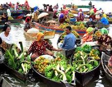 Pasar Terapung Suku Banjar