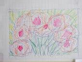 Bosje bloemen voor Marianne