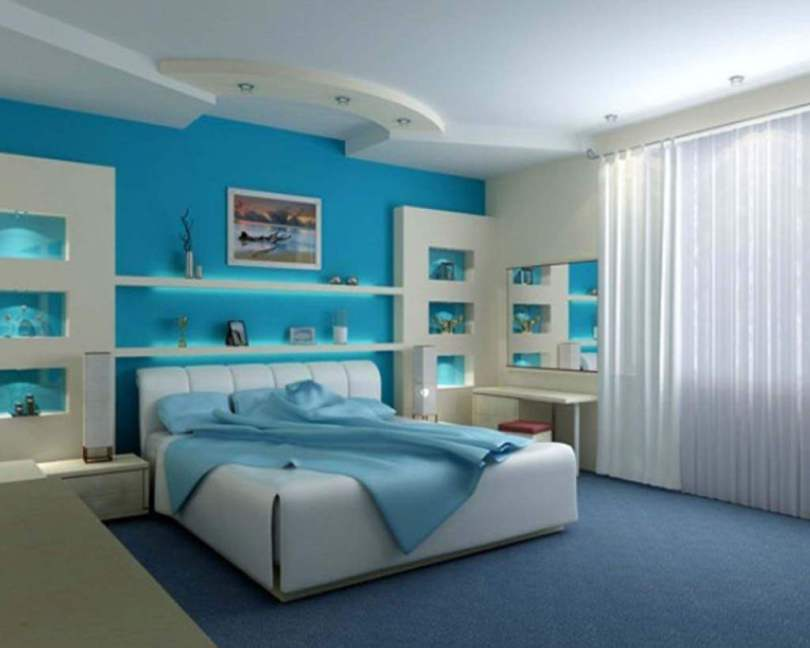 Bedroom Designs Colours blue bedroom designs tips | design marketing