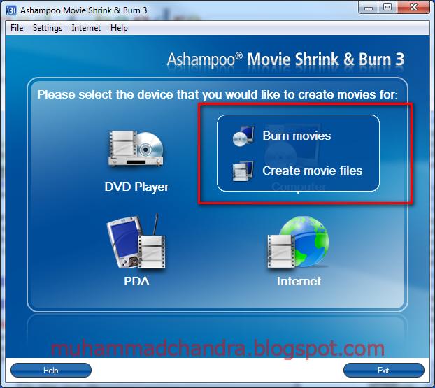 Shrink movie files