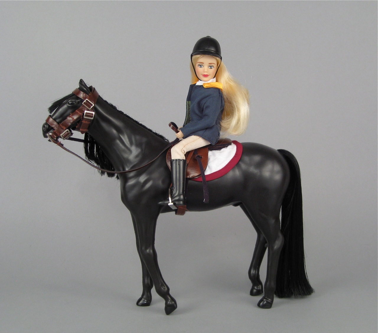 Paradise horse and rider
