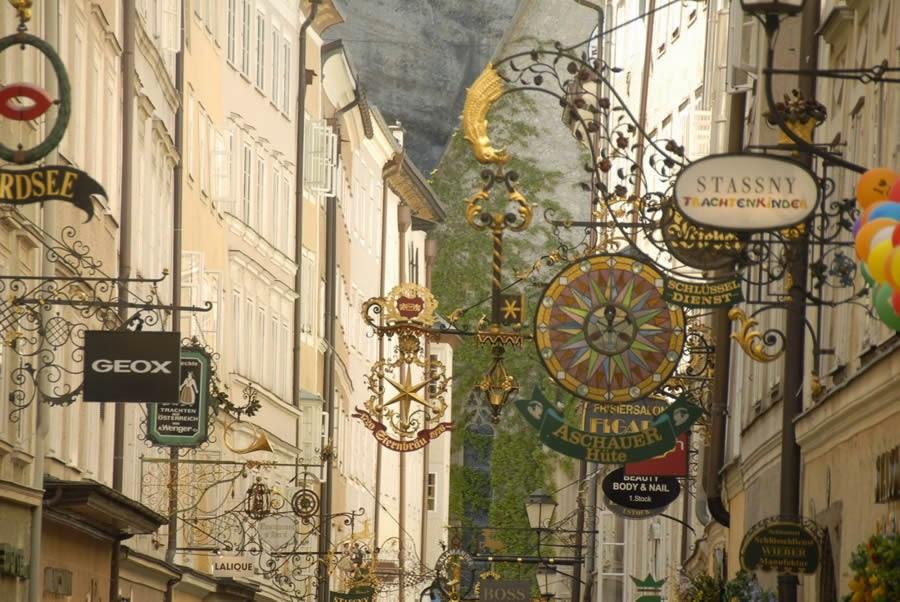 شارع جيتريدجاس للتسوق في سالزبورغ