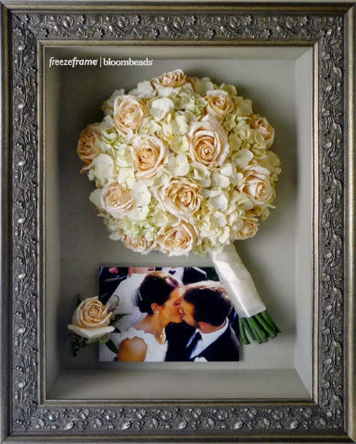 Wedding Bouquet Preservation Company : Frame your wedding flowers preserving