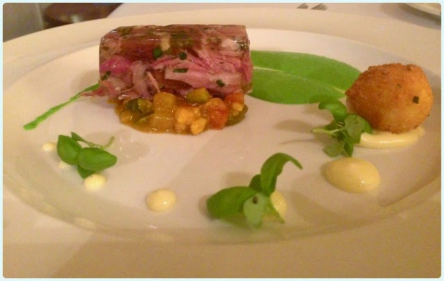 Ox Pasture Hall - Ham, Egg and Peas