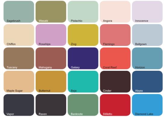 Resultado de imagem para cores primavera verão 2017