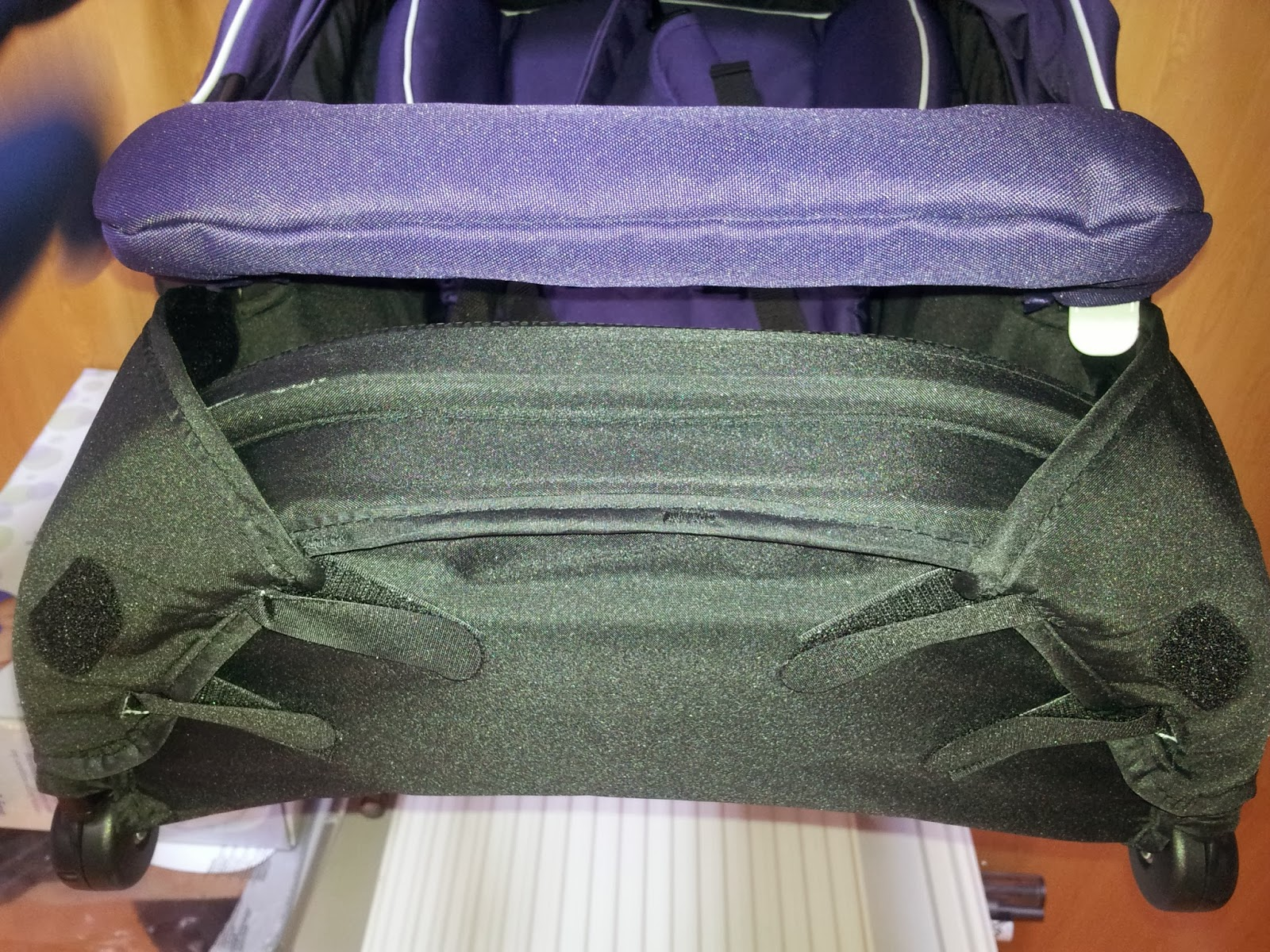 Two Kids And Three Angels 2013 Cussons Baby Purple Bag Complete Care Set Nest Mode Foot Rest Converted