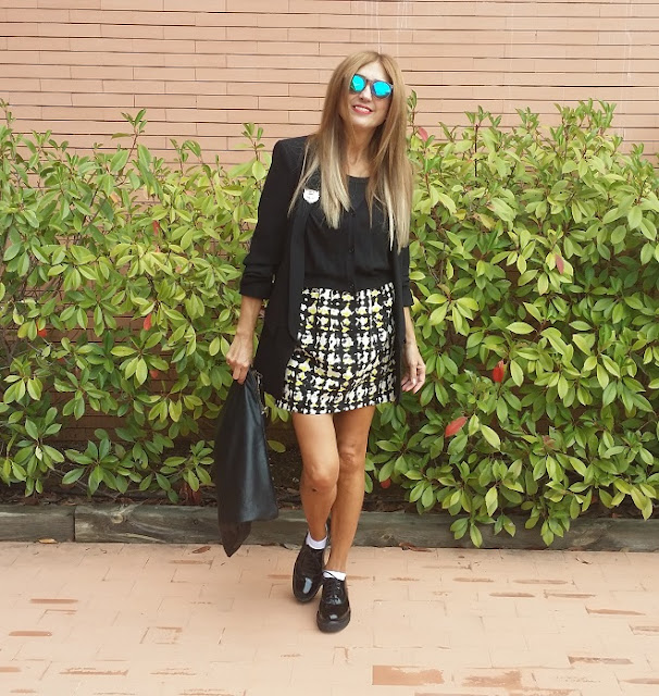 Skirt, Look, Isadora Comillas, Sunco, Style, Carmen Hummer, Blog de Moda, Fashion Blogger