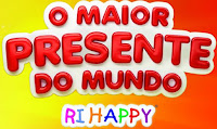 Promoção RiHappy 'O Maior Presente do Mundo'