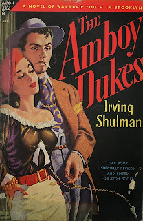 Band name Amboy Dukes origins - Irvin Shulman - Book
