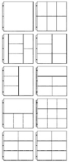 Divided Page Protectors from Stampin' Up! available from Bekka