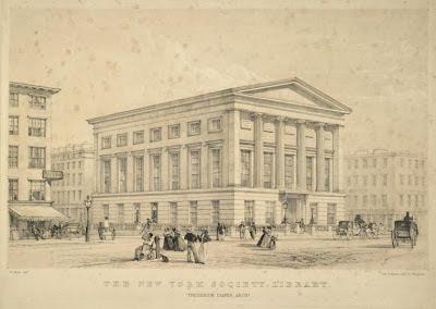 New York Society Library Edgar Allan Poe