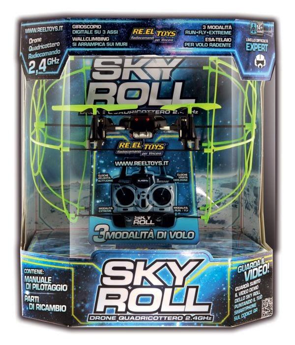 Drone radiocomandato SKY ROLL quadricottero giocattolo RE EL Toys caratteristiche prezzo di vendita Youtoys