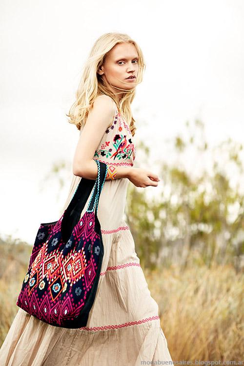 Vestidos primavera verano 2015. India Style 2015 moda 2015.